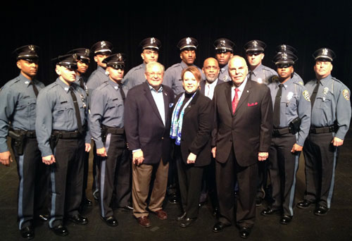mercer police academy graduates 5th class of corrections officers