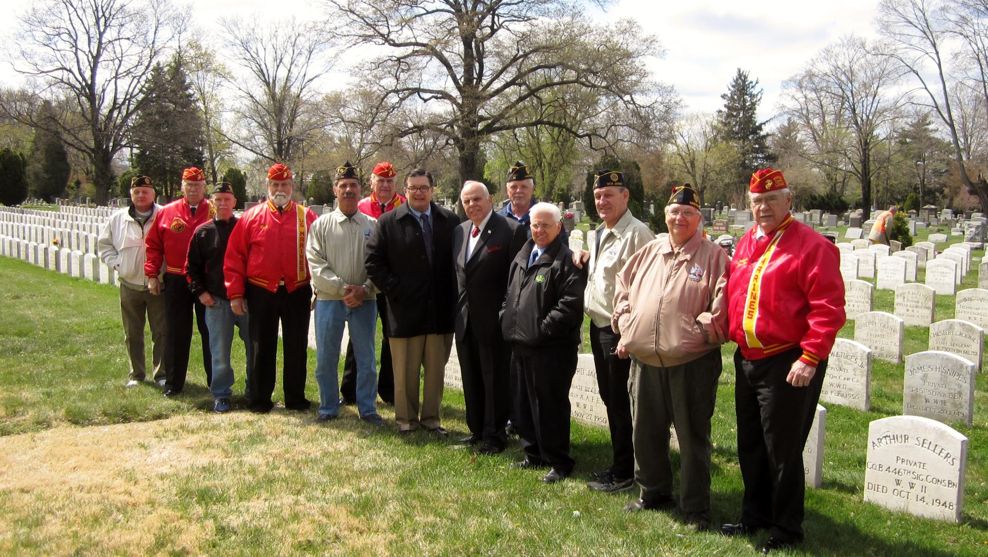 Operation White Stone, Veterans Section, Greenwood Cemetery