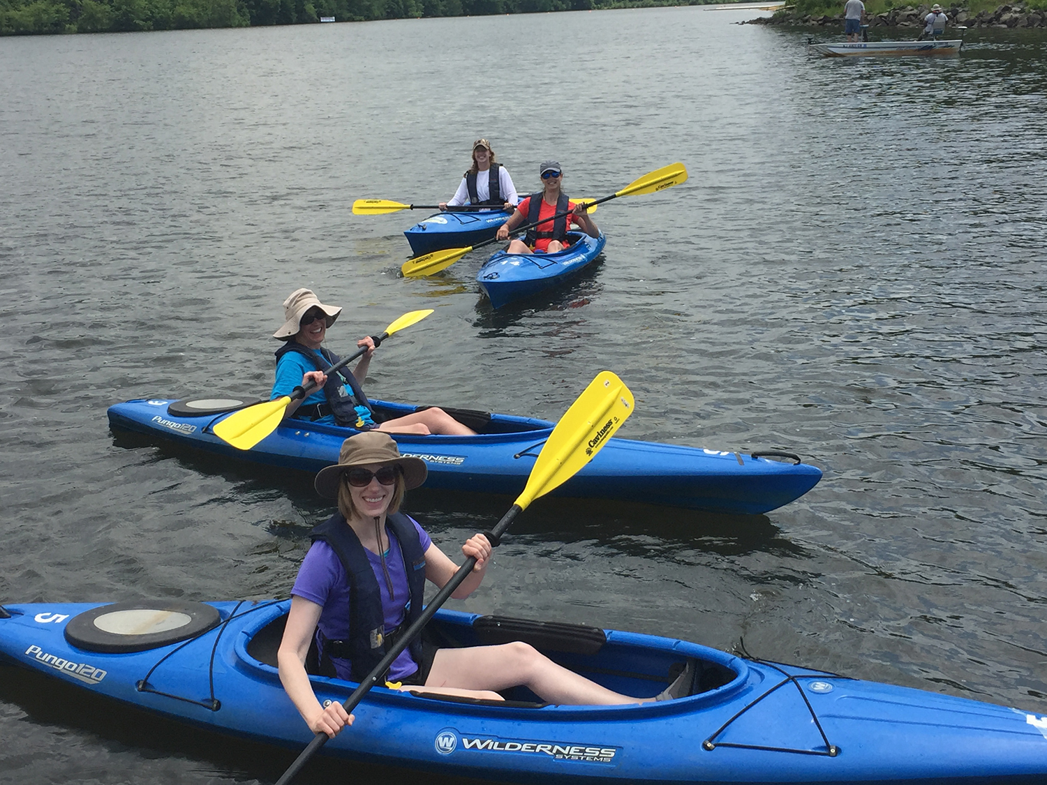 Kayak tours of Mercer Lake