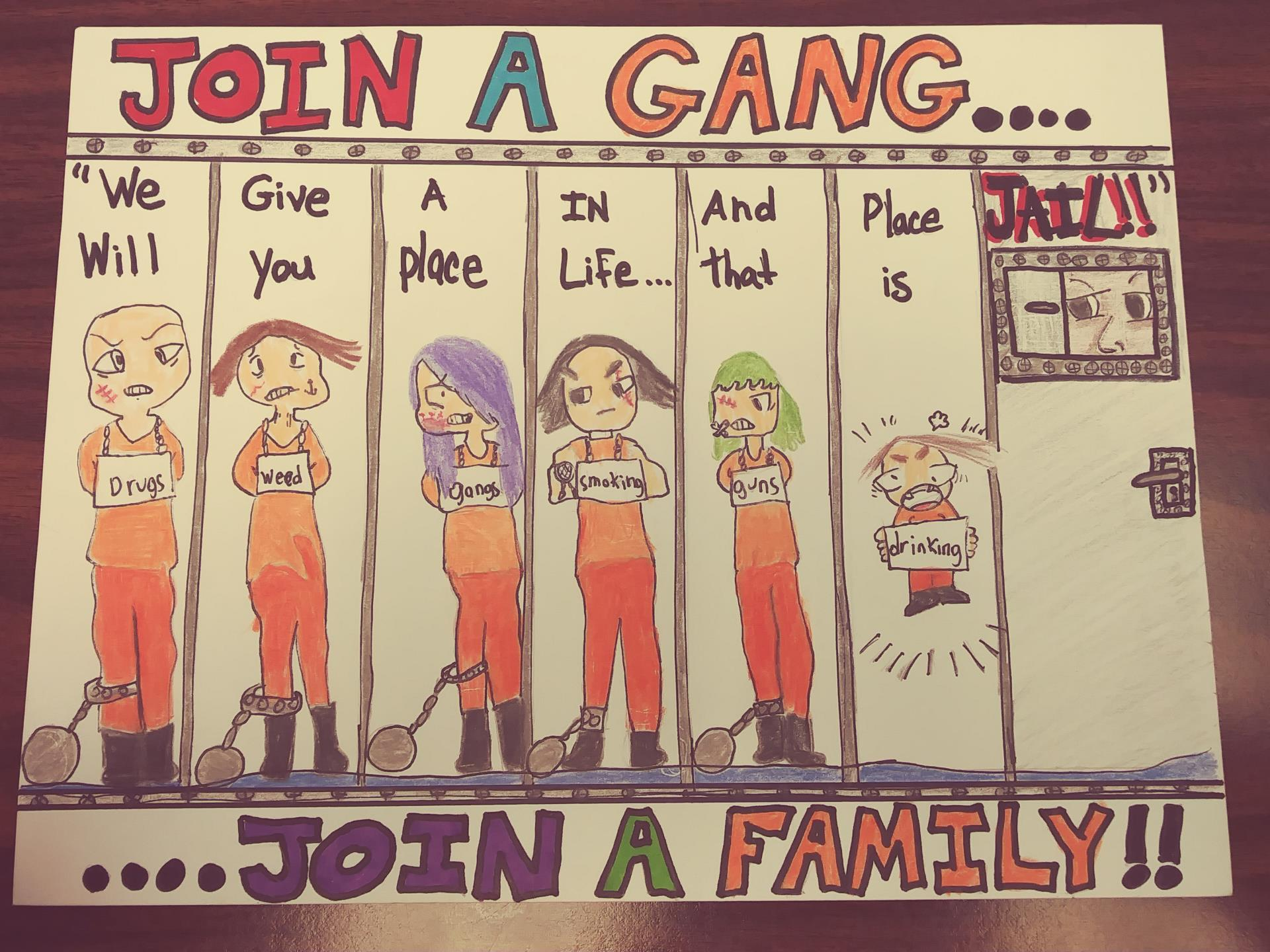 Cal--Don't Join a Gang