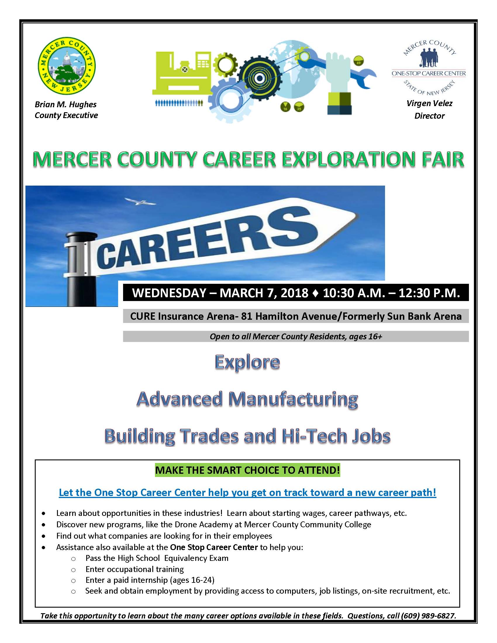 Career Exploration Fair 3-7-17 flyer