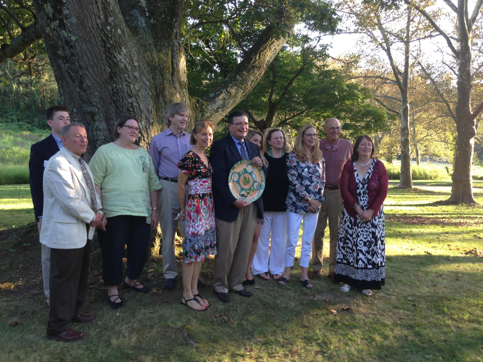 D&R Greenway honors Mr. Hughes with Preservation Award
