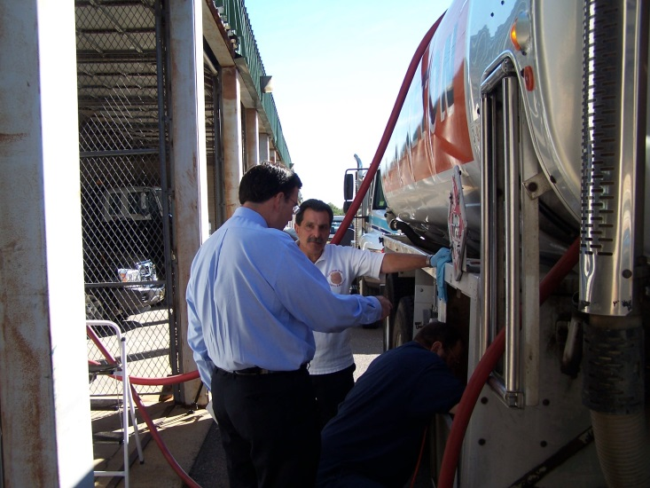 Fuel truck inspection