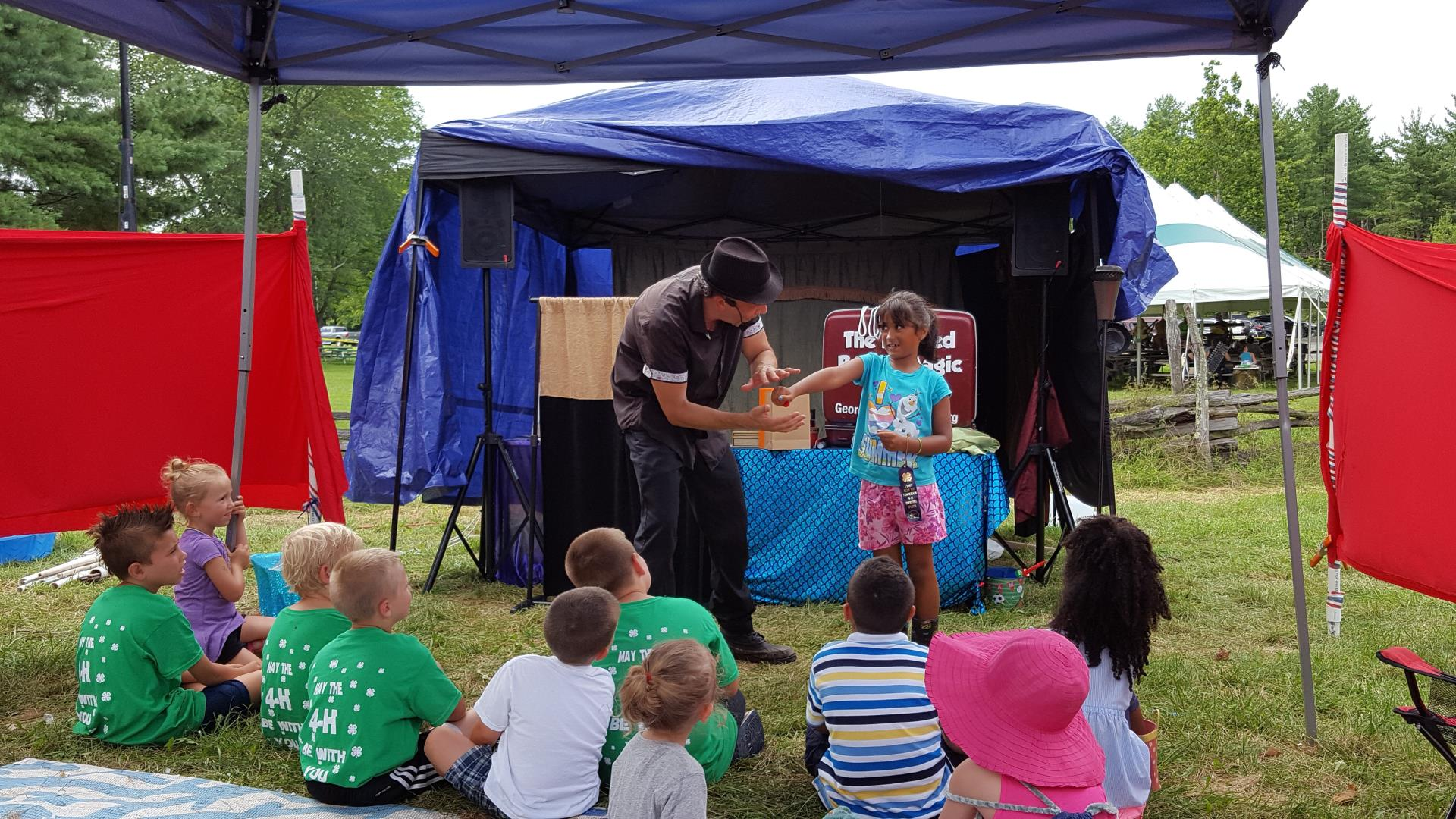 4-H Fair magic show